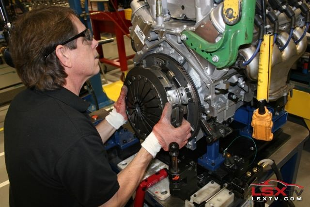 GM's Performance Build Center: Home of the LS9 Engine