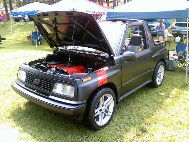 swap insanity corvette powered geo tracker lsx magazine Geo Tracker Knock Sensor Location pounds isn t insane enough with 500 horsepower in a 2 200 pound light truck it must go like stink this is one of the most unassuming sleepers we ve