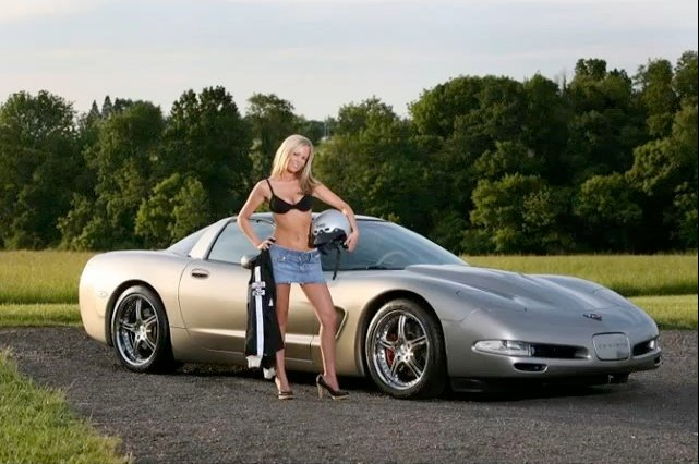 Video Slideshow: Girls and Corvettes - A Classic Combination