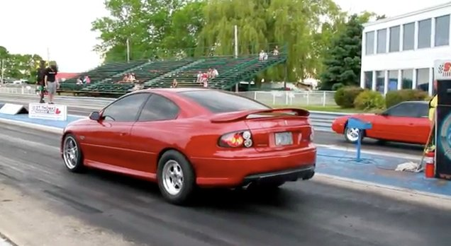 Video: LS Swapped 240SX Battles GTO at the Dragstrip