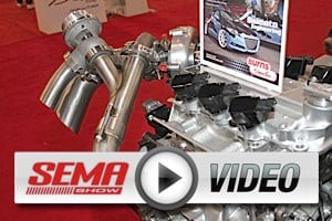 SEMA 2012: Burns Stainless Covers Everything From Hybrids to Hemis