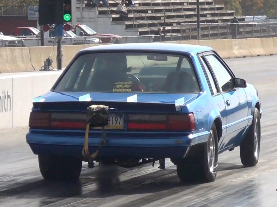 Video: Budget Turbo LQ4 Fox Body Running 9s - LSX Magazine