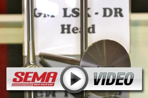 SEMA 2012: Ferrea Has Titanium/SS Valves for High-flow LSX-DR Heads