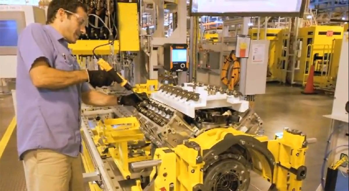 Video: Building The Power For The New Corvette
