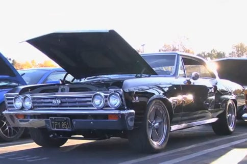 Video: Christmas Is A Time For Kids, Toys, Giving, And Car Shows