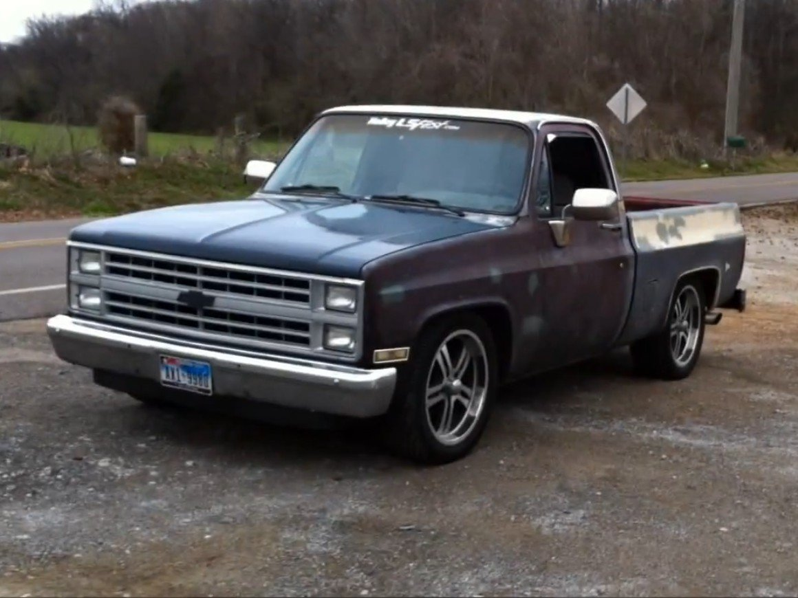 5.3L Swapped '84 C10 Chevy Pickup Stolen In Alabama