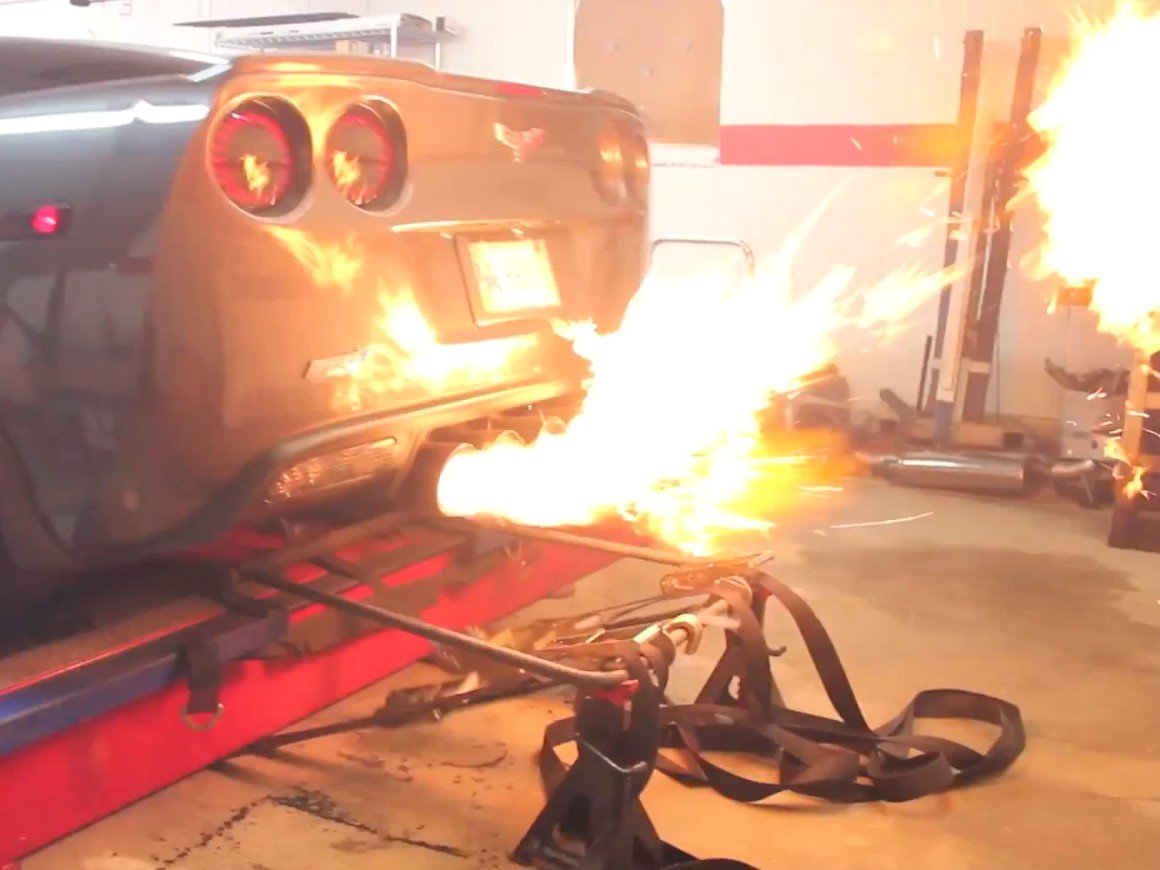 Video: Tail-Wagging, Flame Shooting ZR1 Makes 902 RWHP