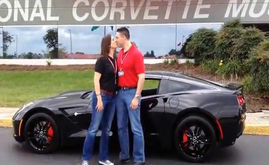 "Video: First ""R8C"" C7 Corvette Stingray delivered at NCM"