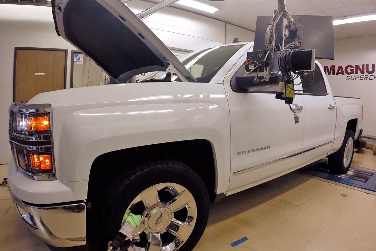 VIDEO: Magnuson Gets Nearly 600 HP From 2014 Silverado 6 2L