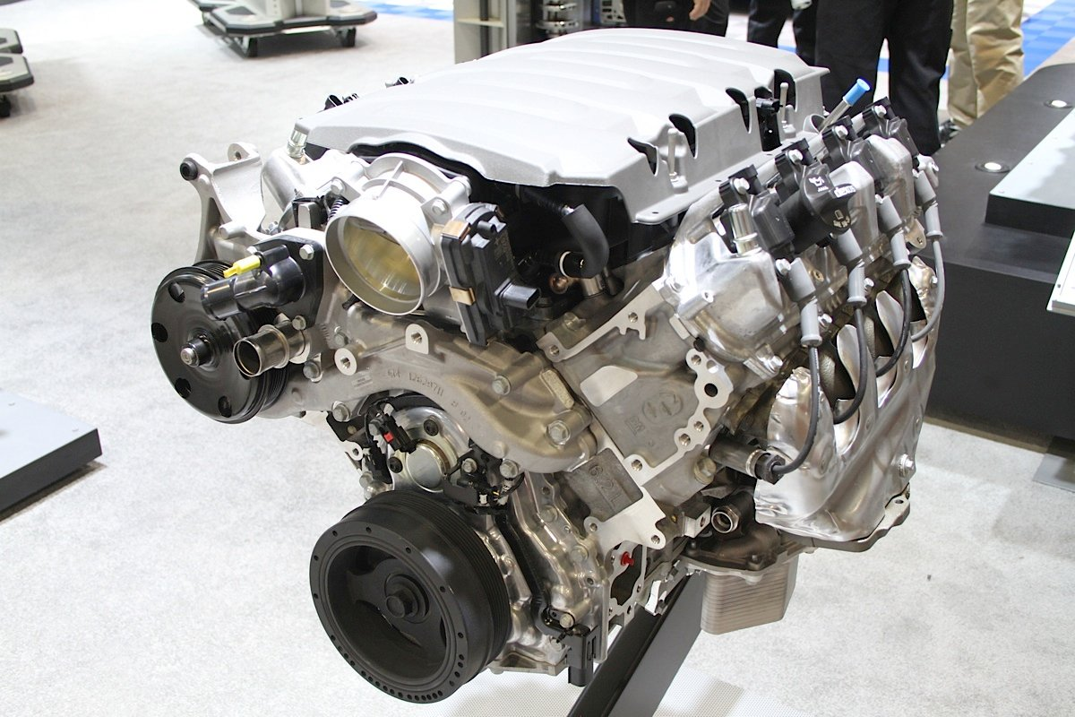SEMA 2014: Chevy Performance Highlights the Gen V LT1 Crate
