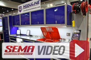SEMA 2014: Moduline's Stand-alone Tool Boxes Complement Cabinets
