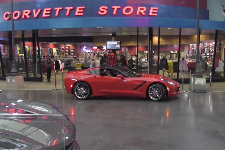 Video: Husband Takes A Side Trip To The NCM, Surprises Wife With C7