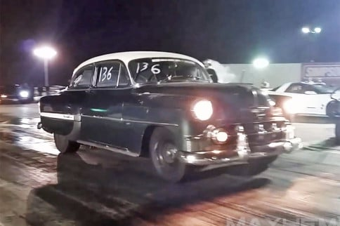 Video: 10-Second Boosted Chevy Bel Air Sleeper