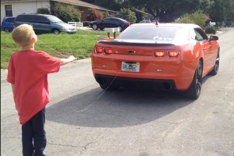 Video: Man Uses Camaro to Pull Kid's Tooth, Because Florida