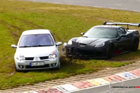 WVW: Is This Matt Farah's Wrecked Vette At The Nürburgring?