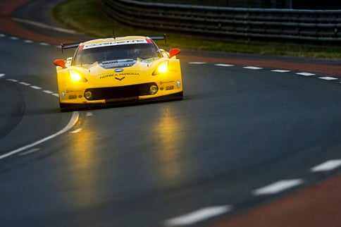 Video: C7.R Crash at 24 Hours of Le Mans Qualifying Session