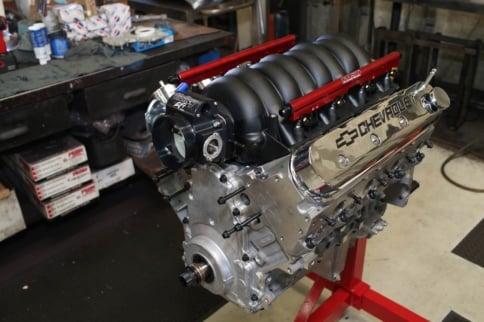Tech: LS3 Versus Coyote Budget Engine Shootout -- Building the LS3
