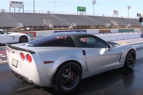 Video: Ten Second C6 Corvette Daily Driver Hits the Dragstrip