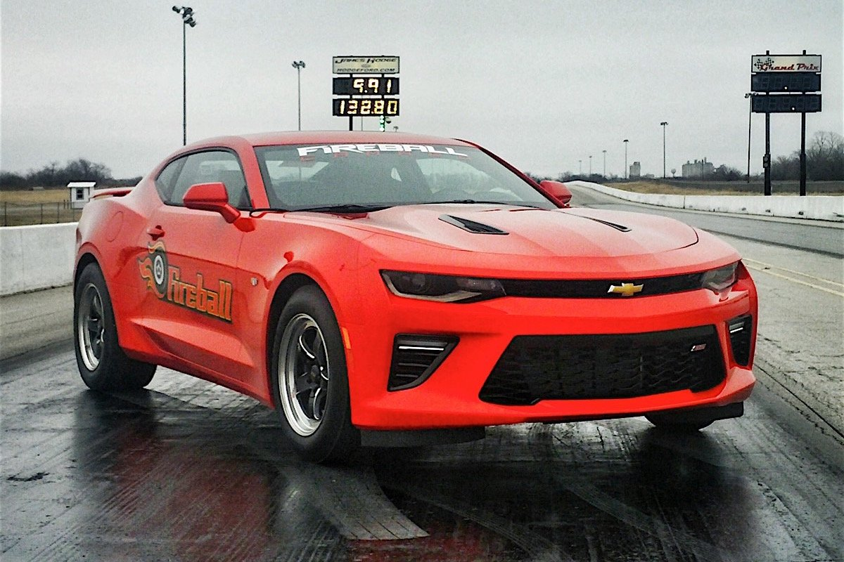 All Types pictures of the new camaro : Video: Fireball '16 Camaro Back At It With A 9-Second Pass