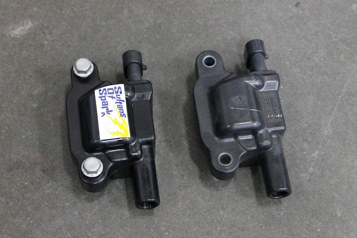 Three Common Misconceptions About Ignition Coil Upgrades Bmw Control Module Wiring Harness Performance Distributors Sos Coils For Ls Engines And One Of Its Ford Replacement Screamin Demon Both Fit Into The Oem Mounting Locations Are