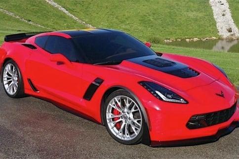 Callaway Corvette Breaks 202 MPH At Mojave Magnum Event