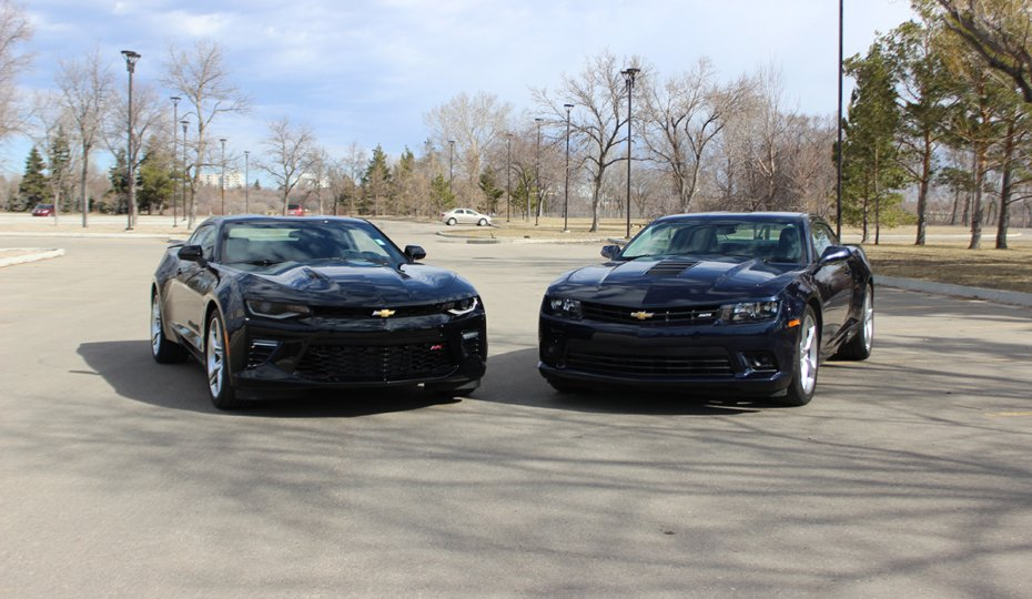 Fifth-Gen vs. Sixth-Gen Camaro Shootout