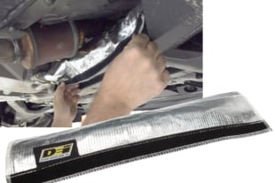 DEI Now Offers Oil Cooler Line Heat Shroud For C7 Corvette