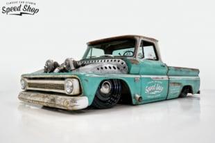 Classic Car Studio's Twin Turbo'd 1966 C10 Shop Truck