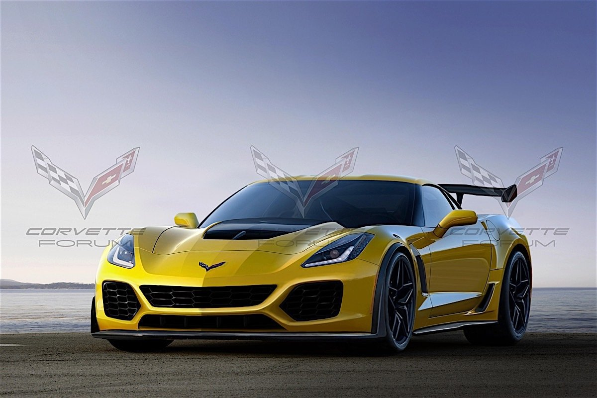 Is This 2018 Corvette Zr1 Render The Real Deal