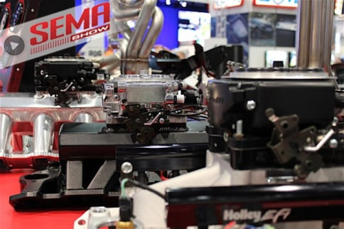 SEMA 2016: Holley Takes The Wraps Off Of Self Tuning Fuel Injection