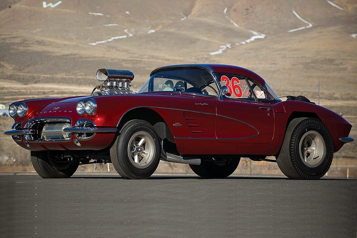 "Mid America Motorworks >> Dream Garage: ""Big John"" Mazmanian's '61 Corvette Drag Car"