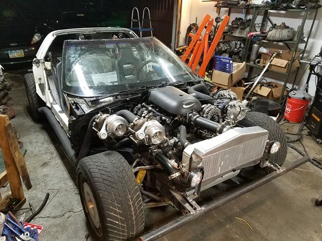 Video: This Quad-Turbo LS-Swapped C4 Earns The Name The Chupacabra