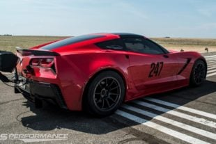 Fastest C7 Corvette Ever Goes Nearly 200 MPH in Half-Mile