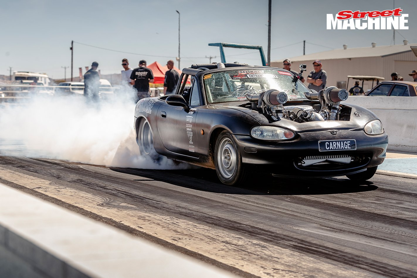 Video Australian Built Twin Turbo Ls Swapped Miata Is Bonkers