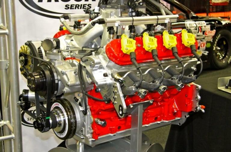 Ilmor Engineering 396 ARCA Engine Assembled At Light Speed