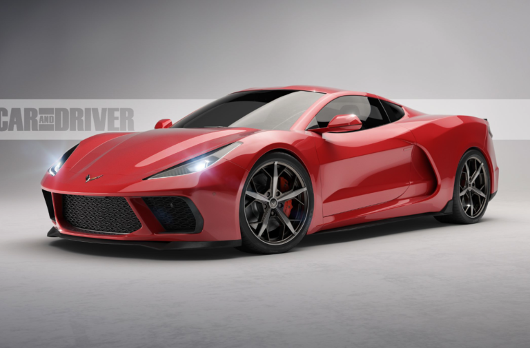 First Look: Is This What The C8 Corvette Will Look Like?