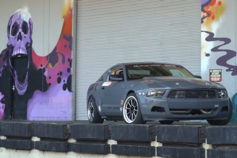 Video: LS Powered Mustang Gets Rowdy On The Hoonigans!
