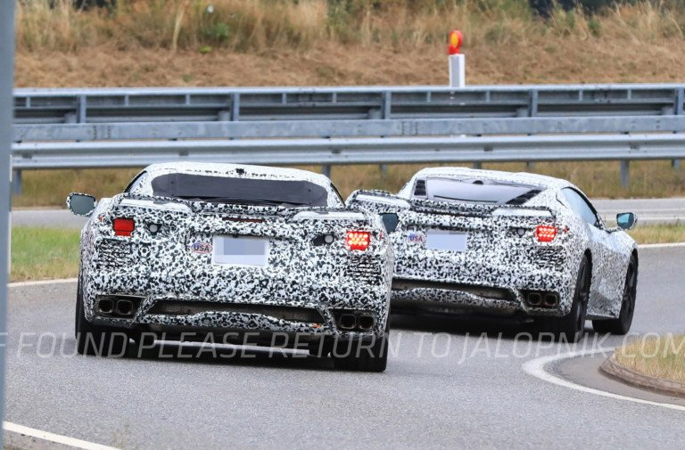 C8 Corvette Hits The 'Ring, And There Is Video