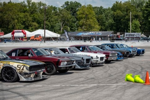 Holley LS Fest East: Autocross Action From Bowling Green