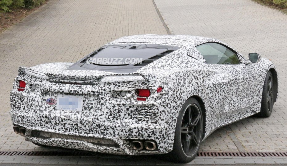 Mid-Engine Corvette Sighted Running Around Nurburgring On Labor Day