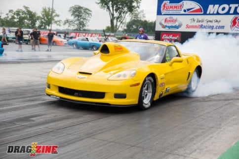 The Yellow Monster: Bob Williams' 2006 NA 10.5 Z06 Corvette