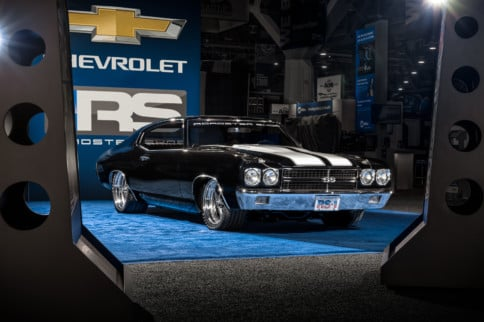 Chevrolet Awards Big Winners From 2018 SEMA Show