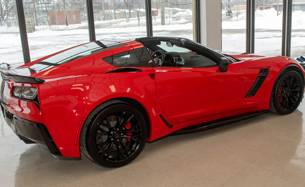 Win A 2019 Z06 Corvette From The National Sprint Car Hall of Fame