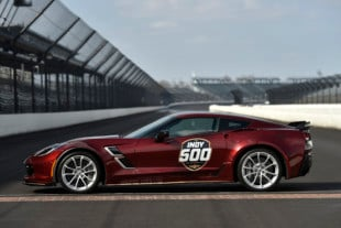 2019 Corvette Grand Sport Paces Indy 500 For 16th Time