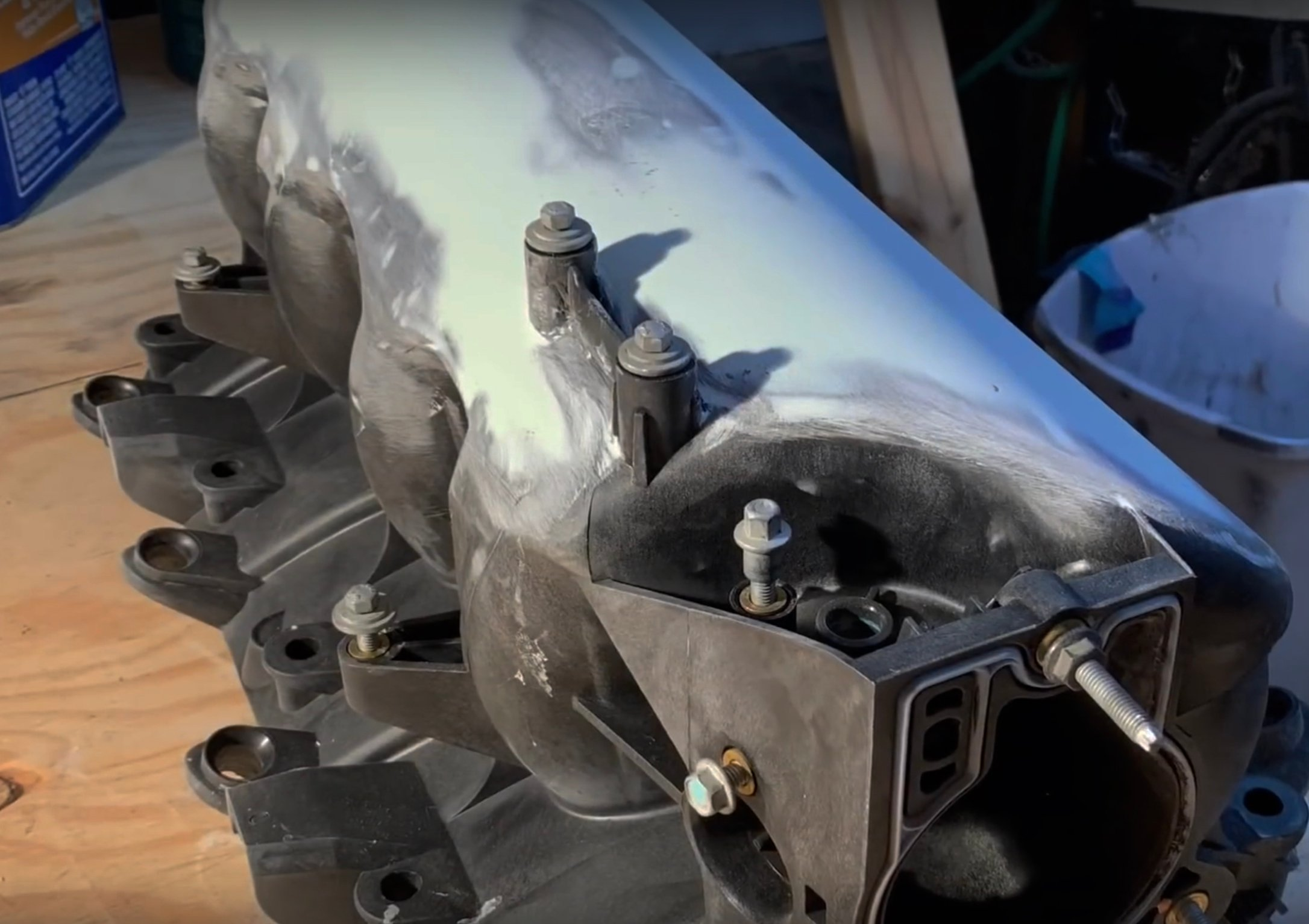 Video: DIY Plastic Welding to Shave an LS Truck Manifold