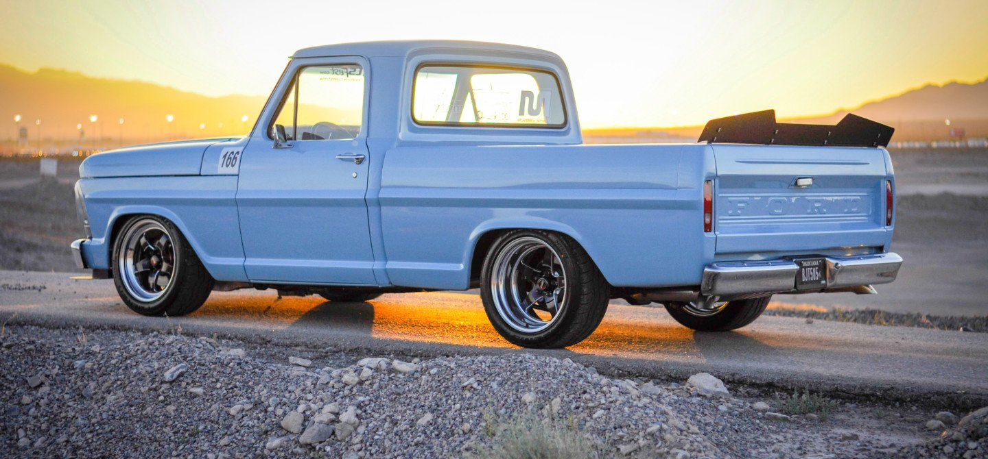 Ls Powered 1969 Ford F100 The Blue Oval Gets An Ls Heart