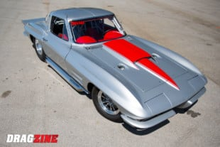 Street Driven Monster: Pete Johnson's Twin Turbo 1963 Corvette