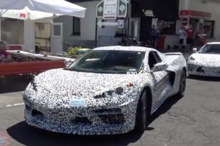 C8 Corvette Details Arise Including Rumored Turbo-Hybrid Engine