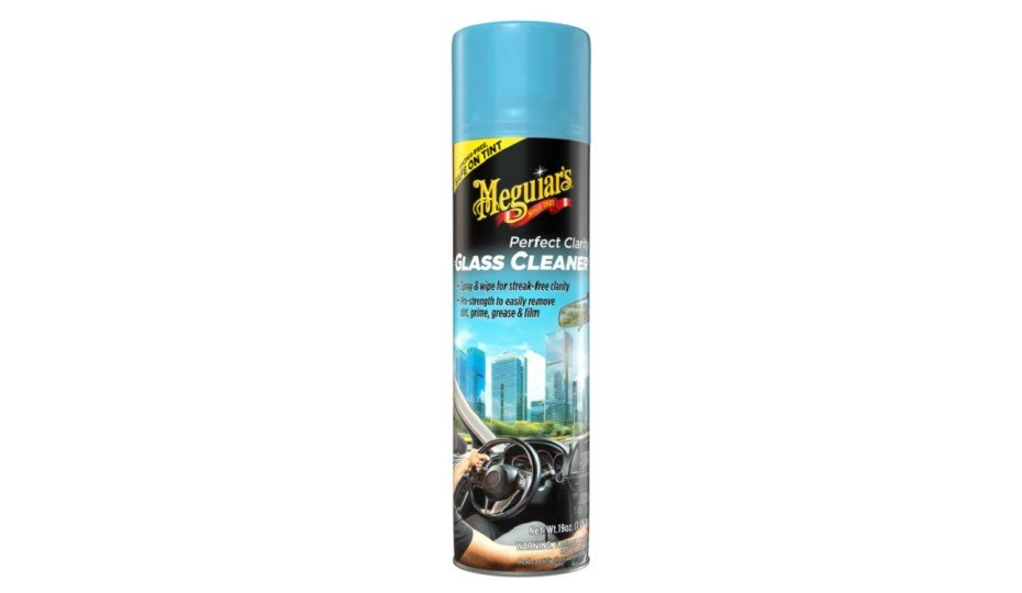 Meguiar's Introduces Perfect Clarity Glass Cleaner