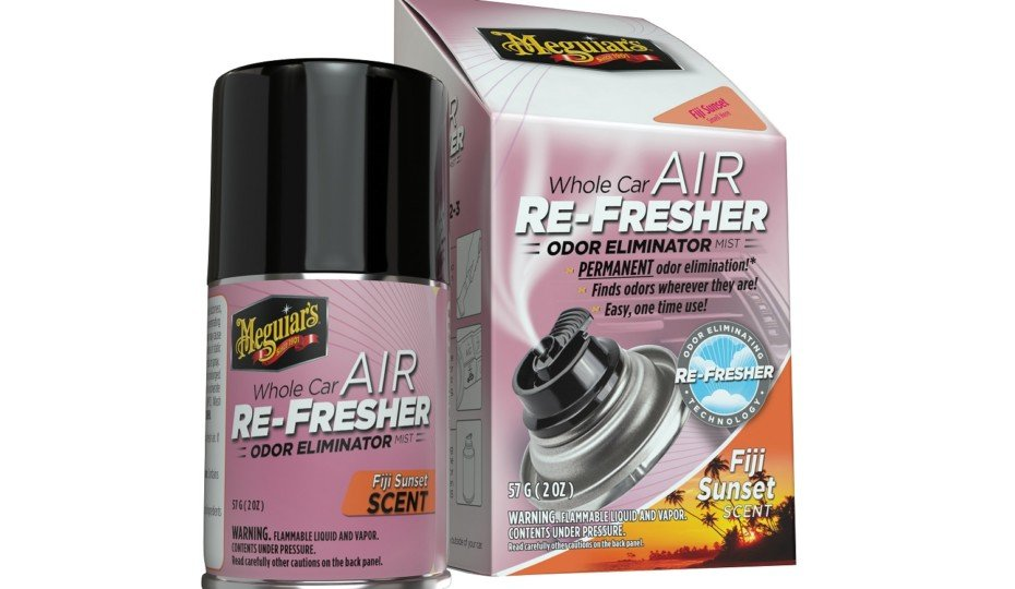 Meguiar's Introduces Fiji Sunset Whole Car Air Re-Fresher